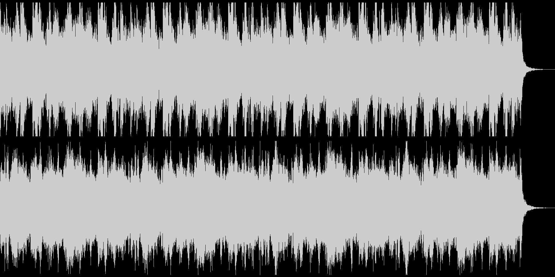 重厚感、ローディング、タイトル向けの未再生の波形