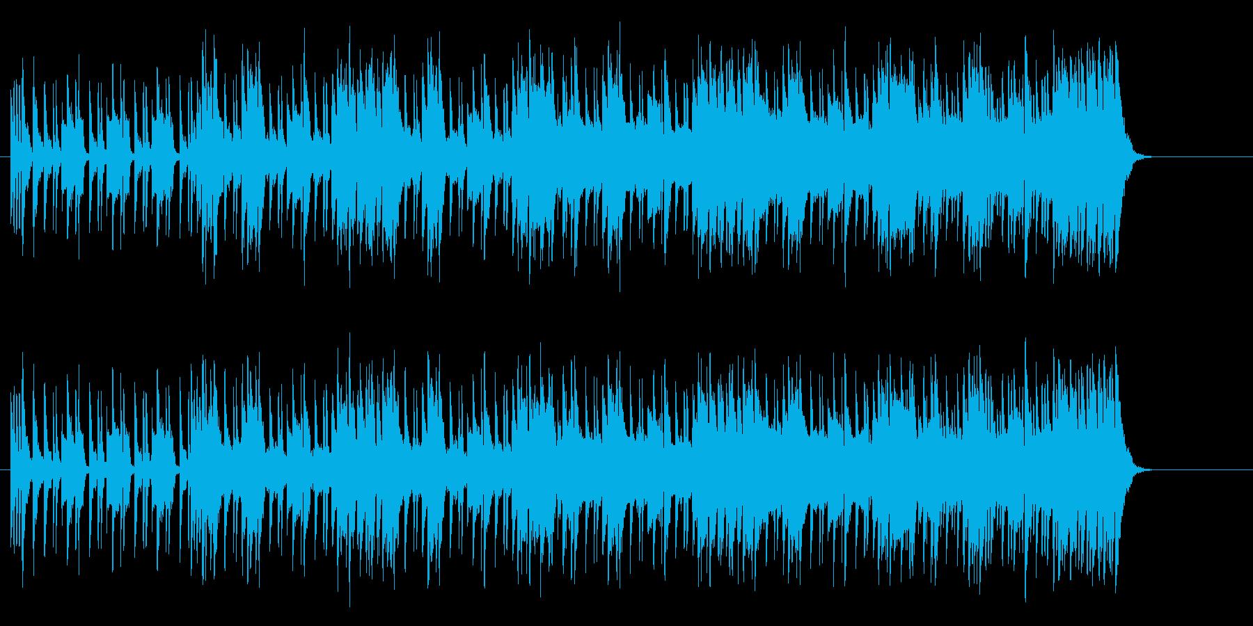 重厚で切れ味鋭いマイナーエレクトロロックの再生済みの波形
