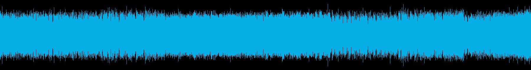 ハードロックのループです。優しいシンセ…の再生済みの波形