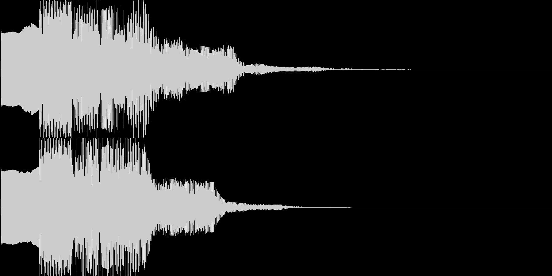 汎用キャンセルボタン - 1の未再生の波形