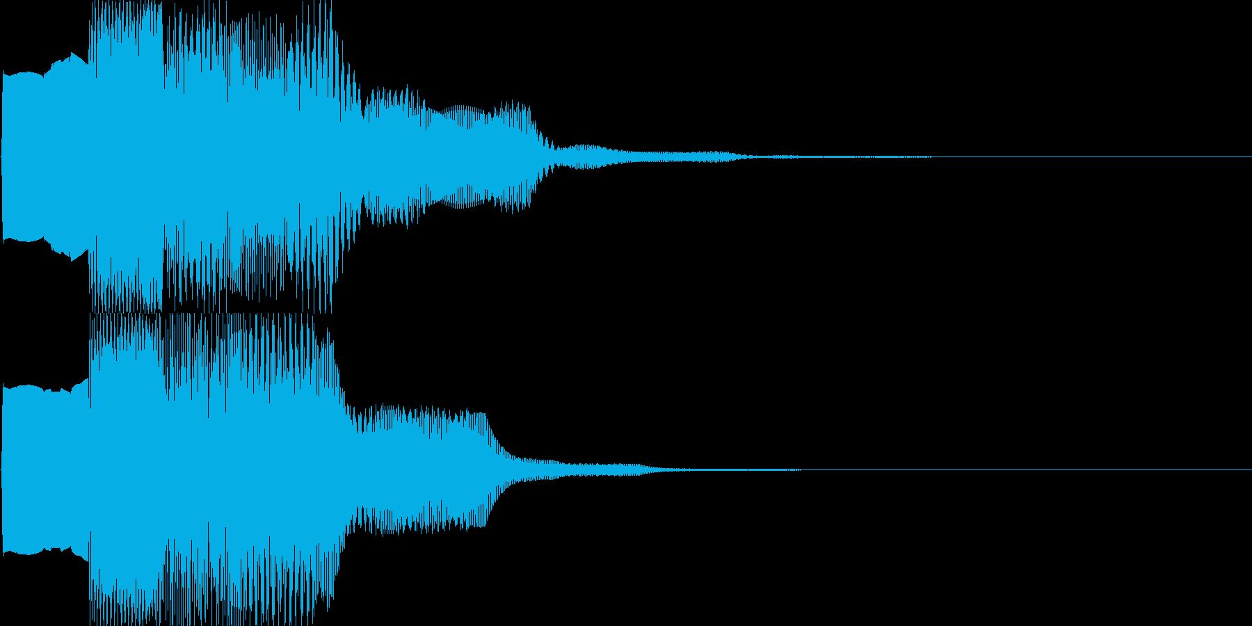 汎用キャンセルボタン - 1の再生済みの波形