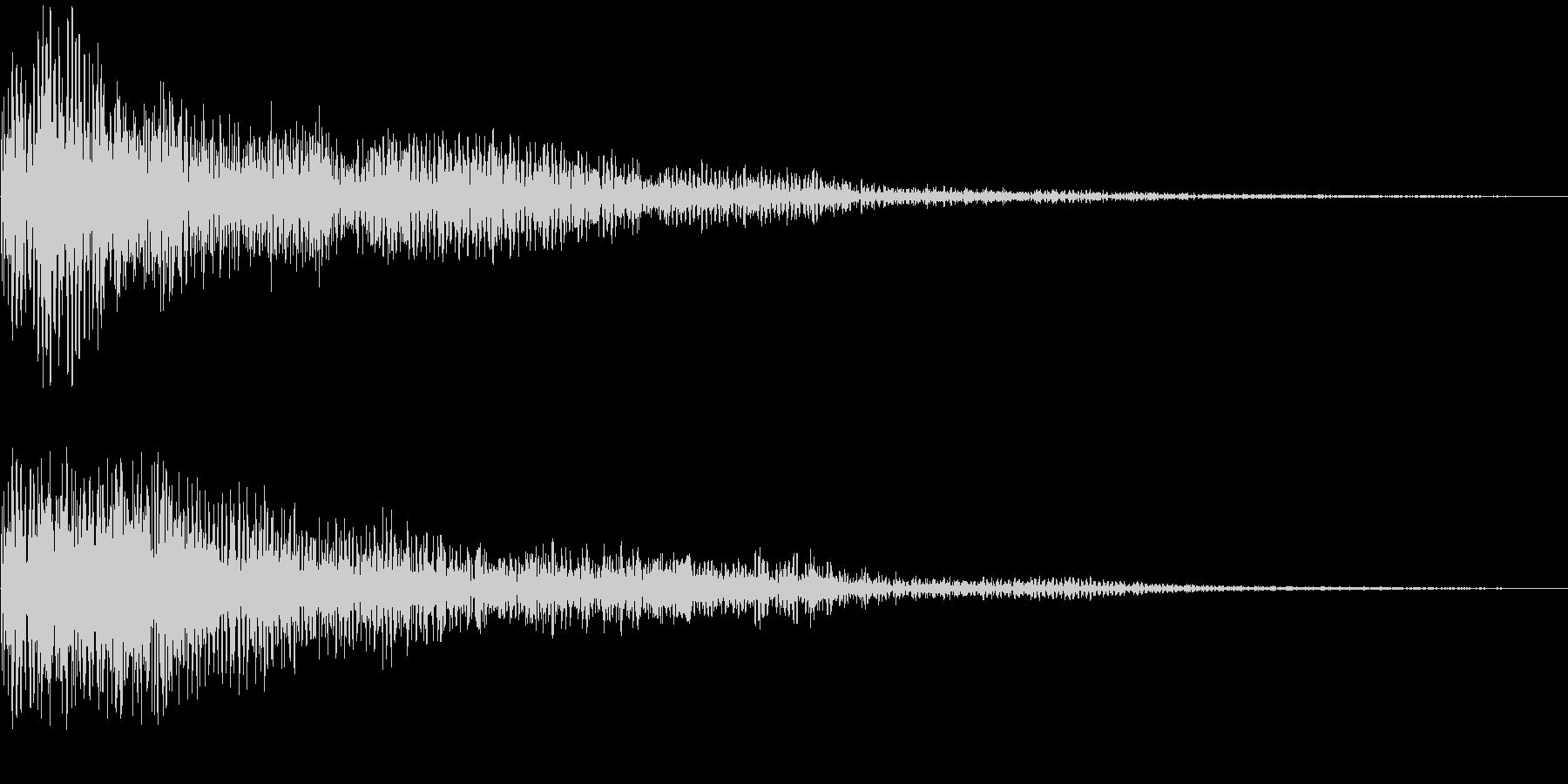 デーン(決定_03)の未再生の波形
