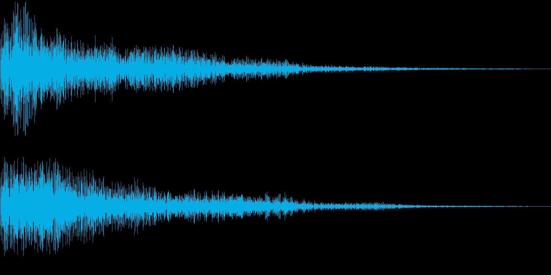 デーン(決定_03)の再生済みの波形