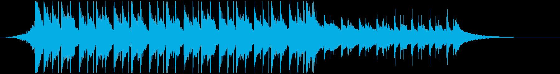 CMや映像に、ハッピーなウクレレ30秒の再生済みの波形