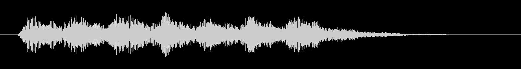 電子音 パラノイア 恐怖の未再生の波形