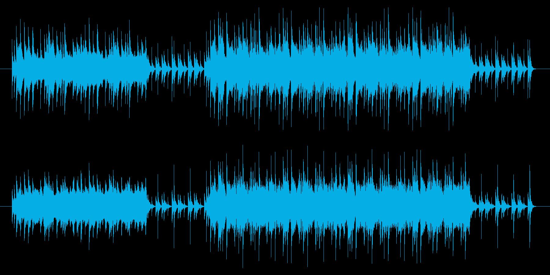 琴、ストリングを使用した和風な楽曲です。の再生済みの波形