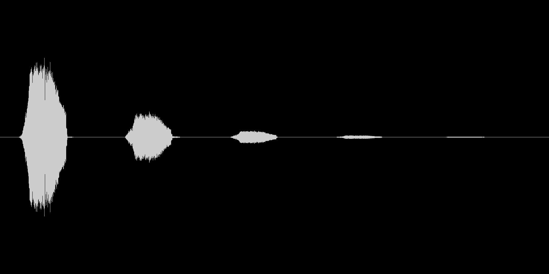 ファミコン風効果音決定音系です 15の未再生の波形