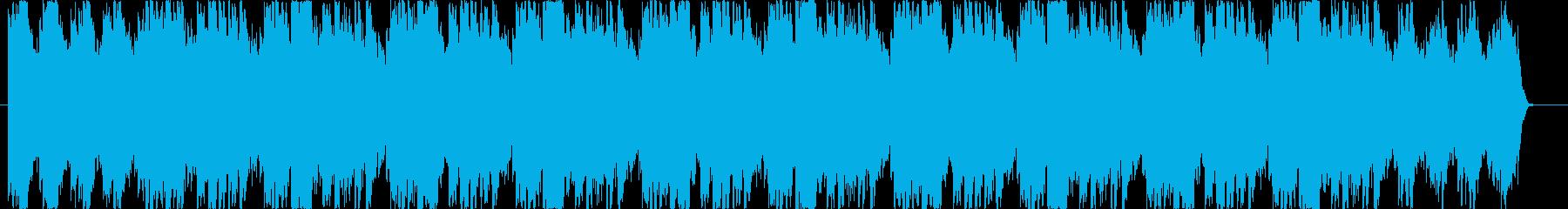 アコギが優しい癒し系のBGMの再生済みの波形