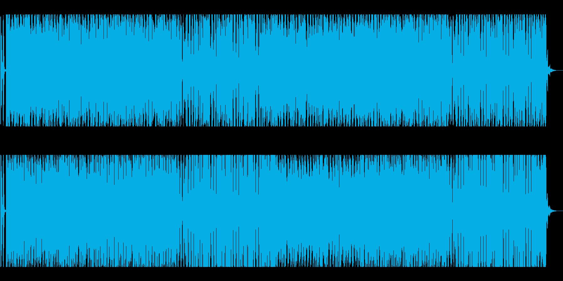 夜景にワクワクするようなおしゃれBGMの再生済みの波形