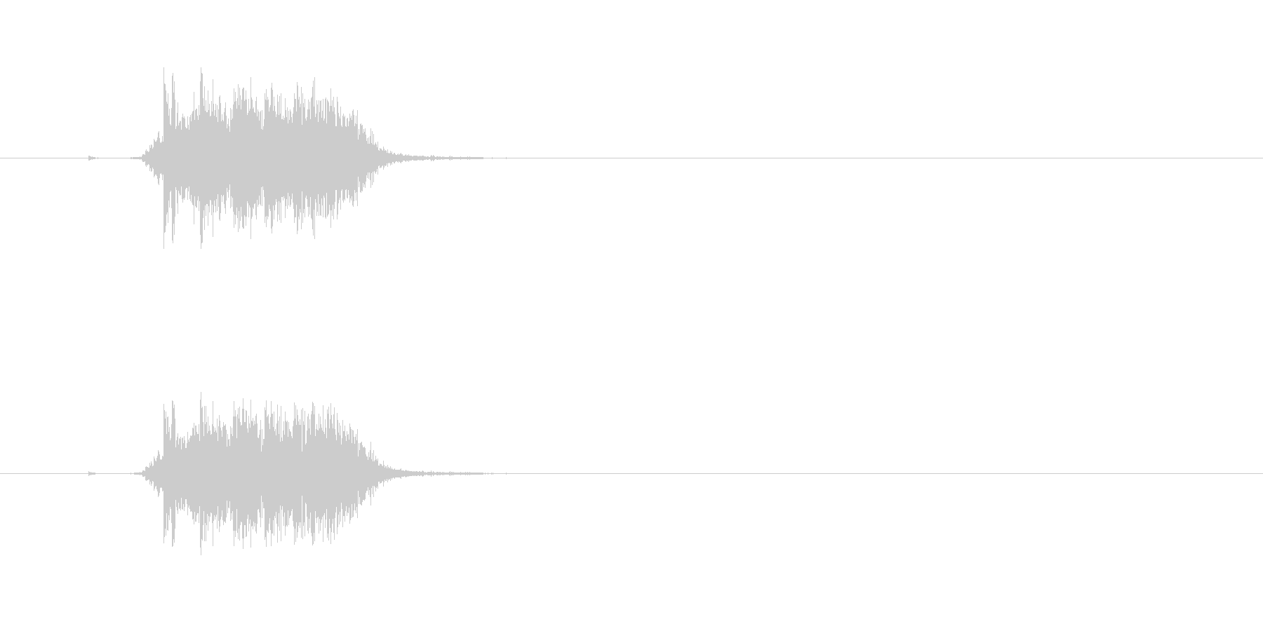 【カーテン02-2】の未再生の波形