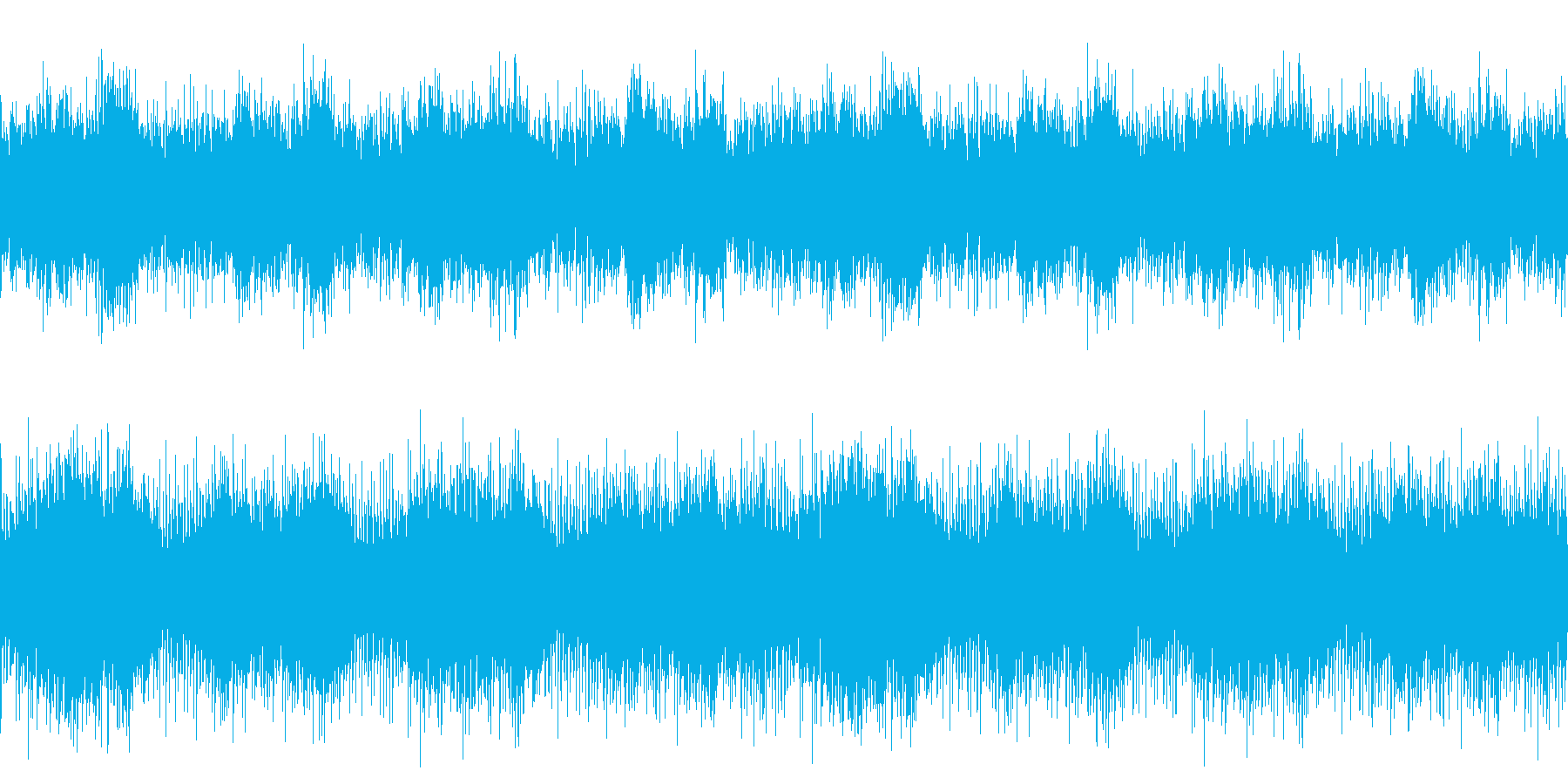 唸るようなホラーサウンドの再生済みの波形