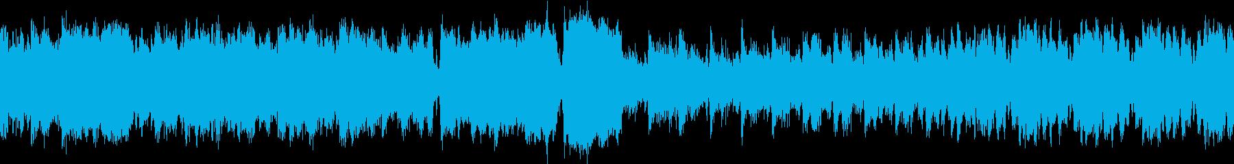 行進曲 勇ましい 高音質ver ループ1の再生済みの波形