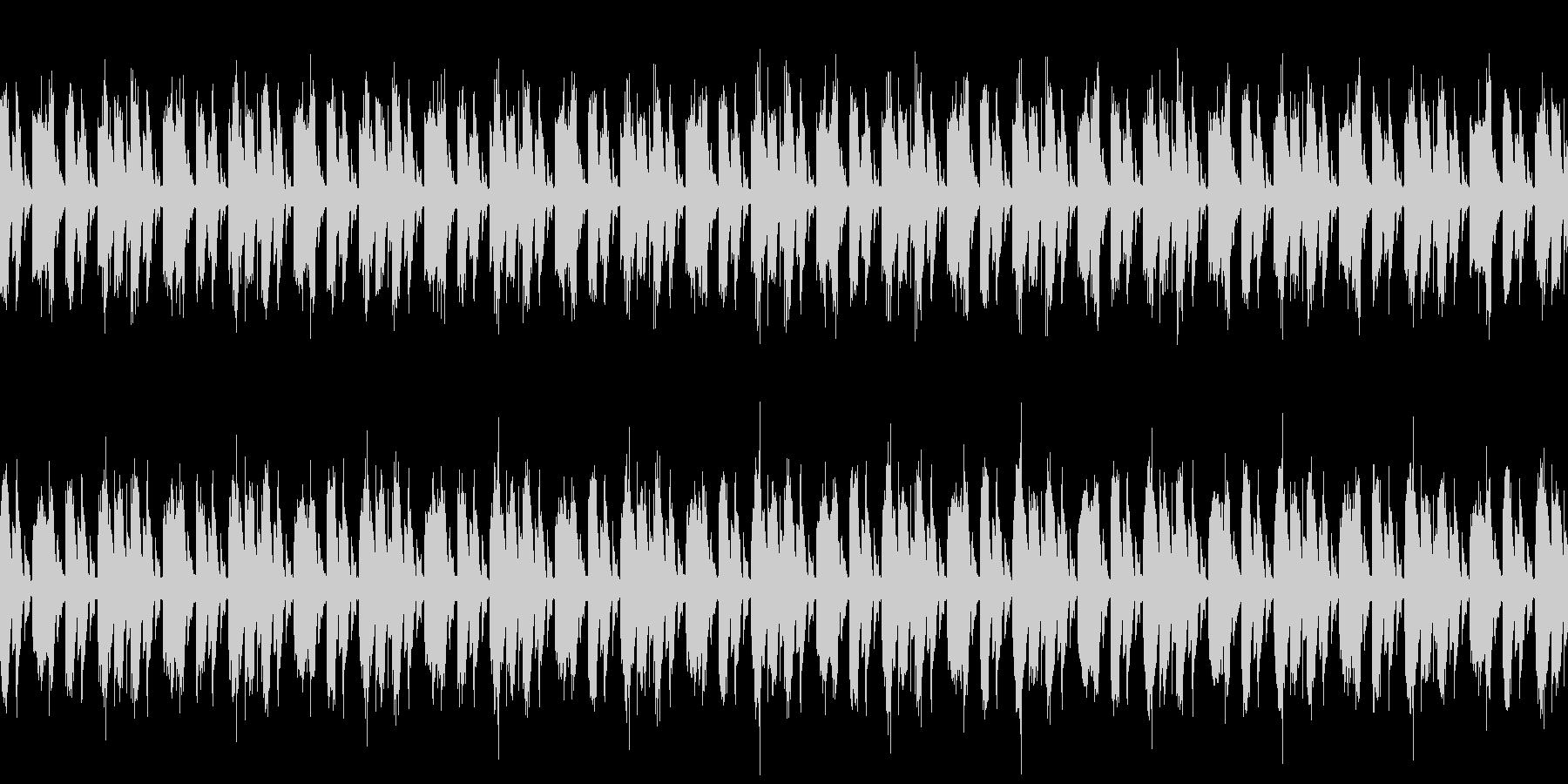 EDM系のLoop楽曲の未再生の波形