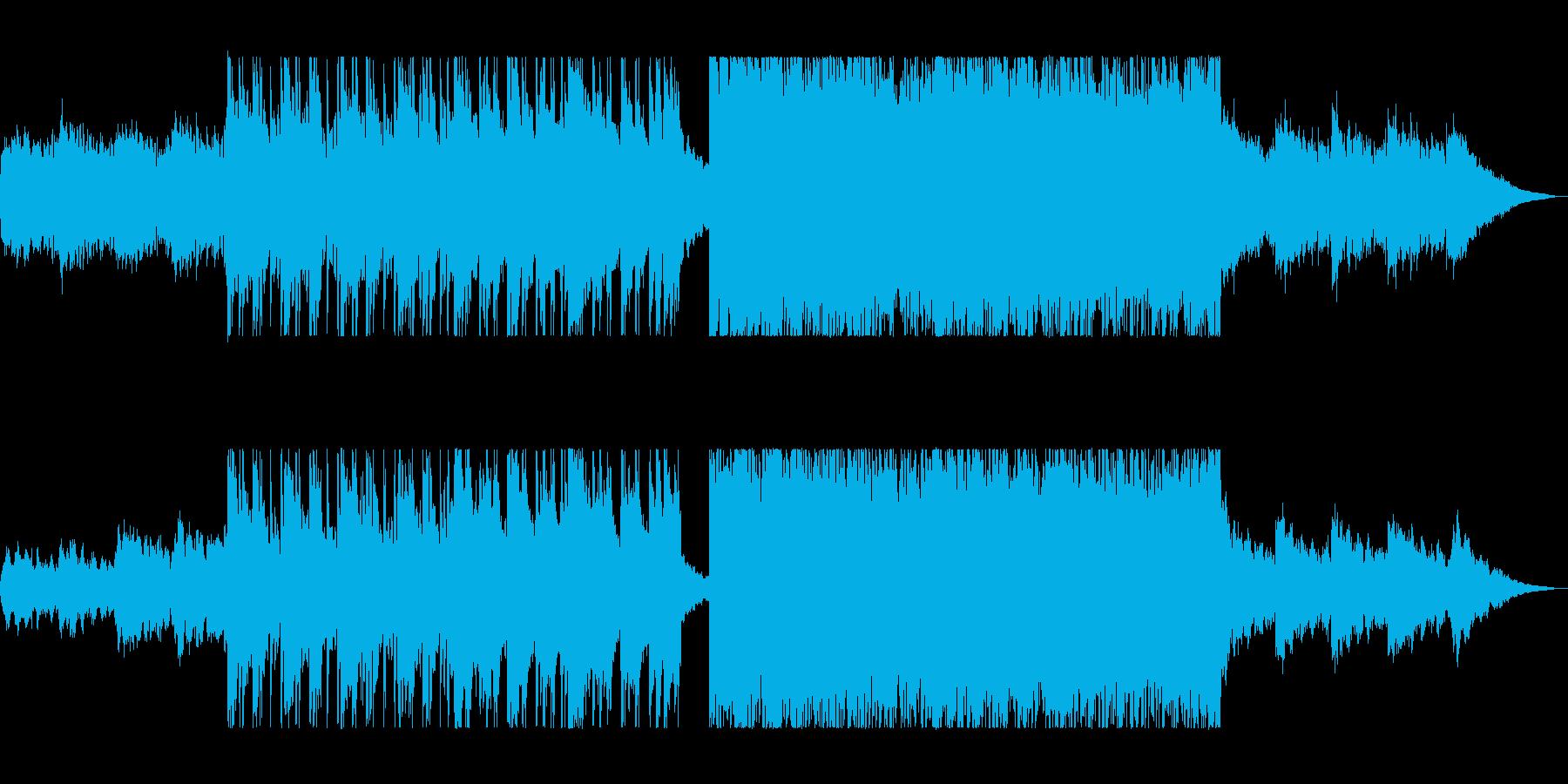 映像に合う優しいギターサウンドの再生済みの波形