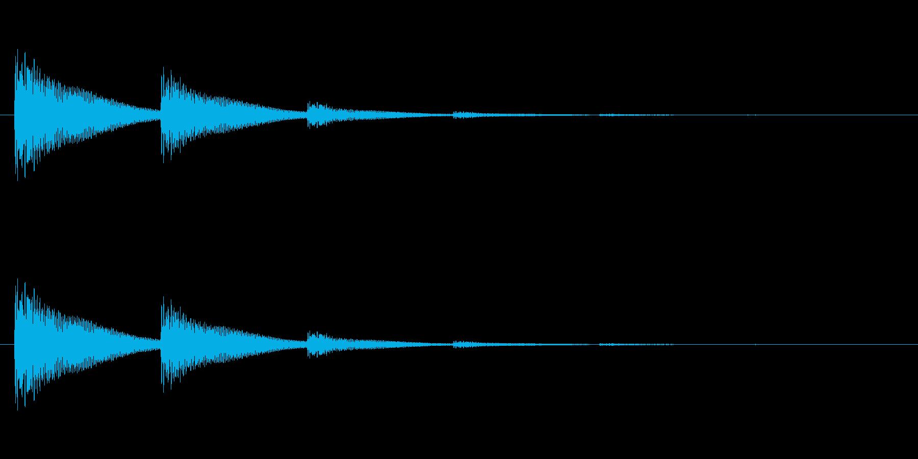 【光る05-3】の再生済みの波形