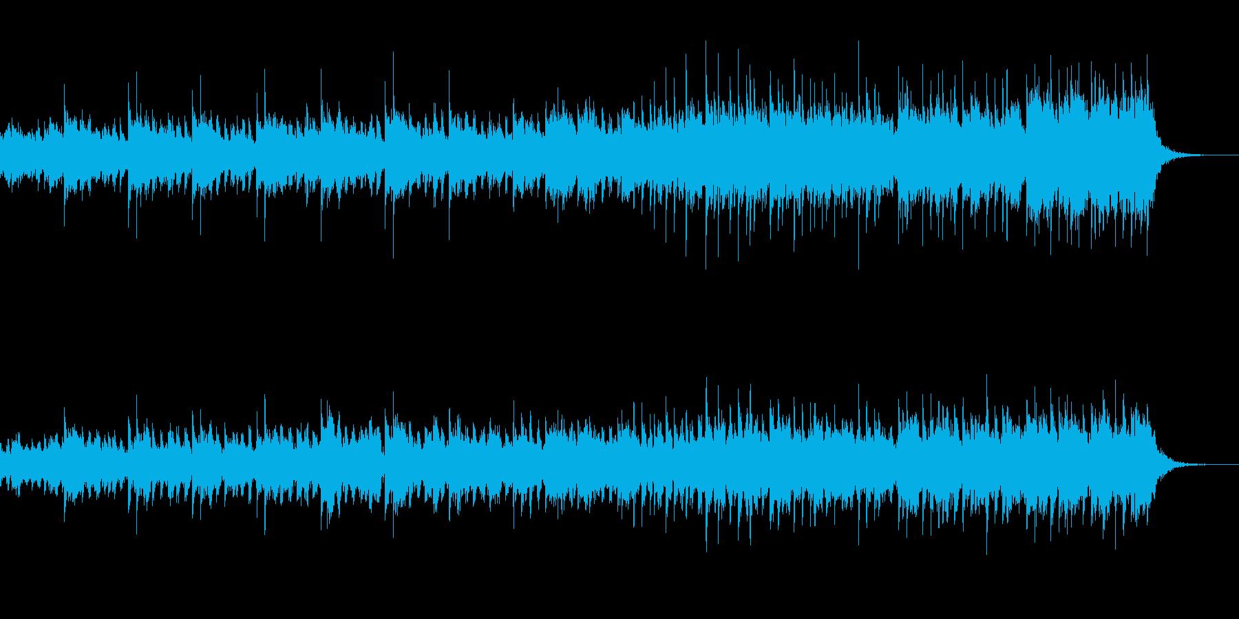 独特な雰囲気のある氷のステージ曲の再生済みの波形