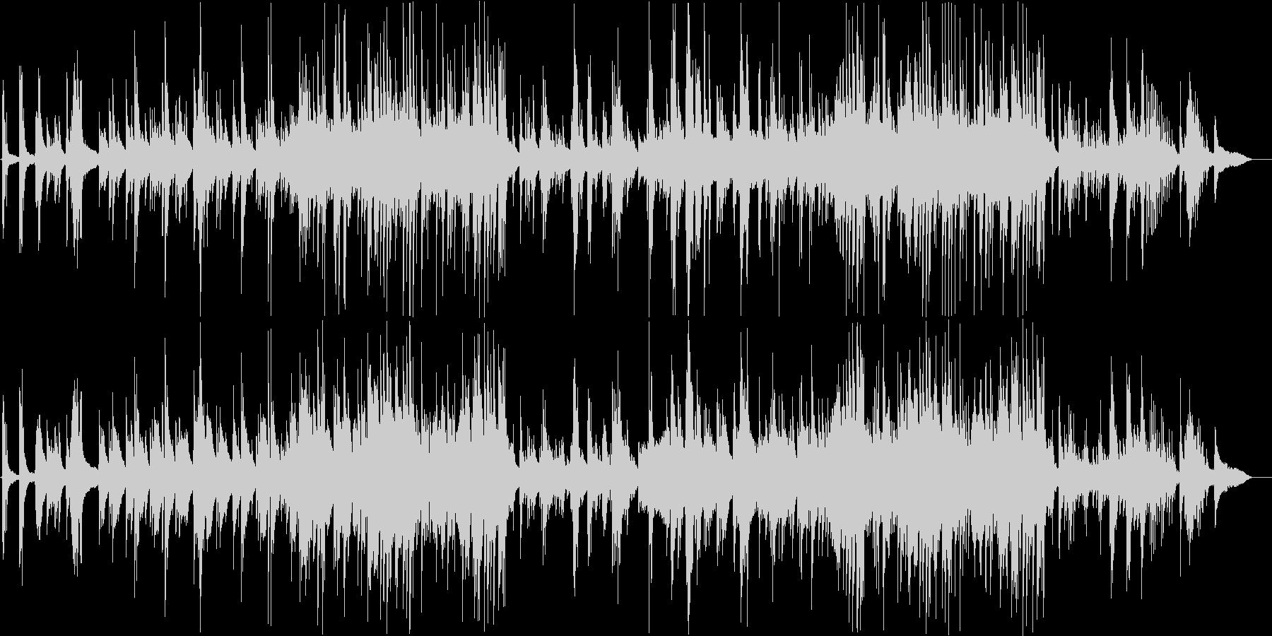切なく幻想的なバラード。大人のピアノソロの未再生の波形