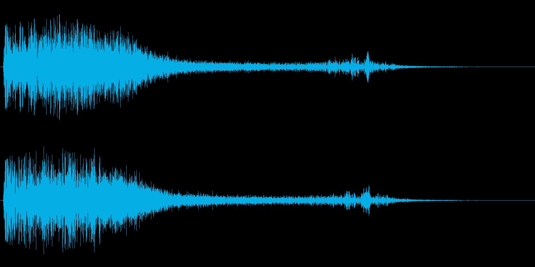 ウィーン(ワープの音)の再生済みの波形