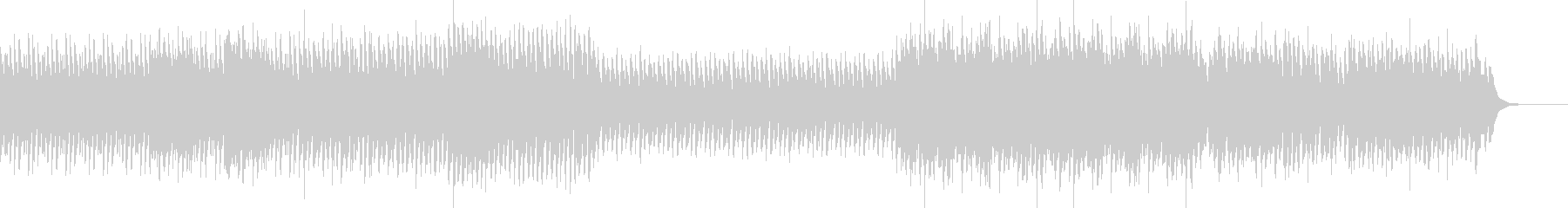 戦闘などに最適な曲の未再生の波形