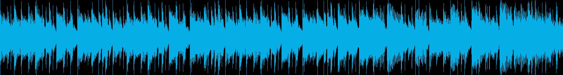 汎用BGM/クール(LOOP対応)の再生済みの波形