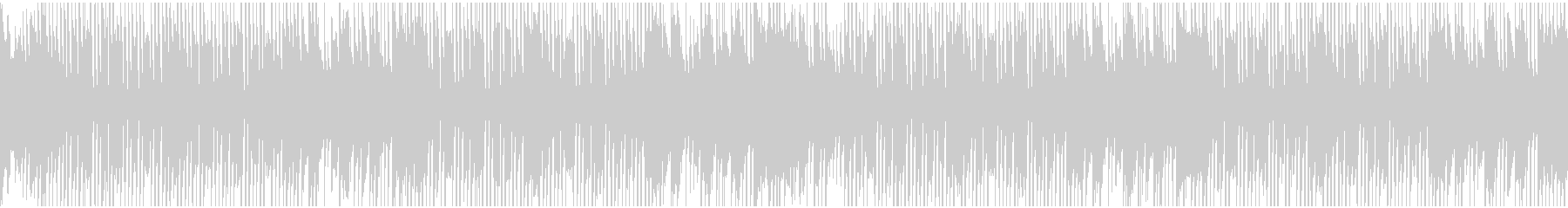 可愛い明るめのホーンのBGM(ループ)の未再生の波形
