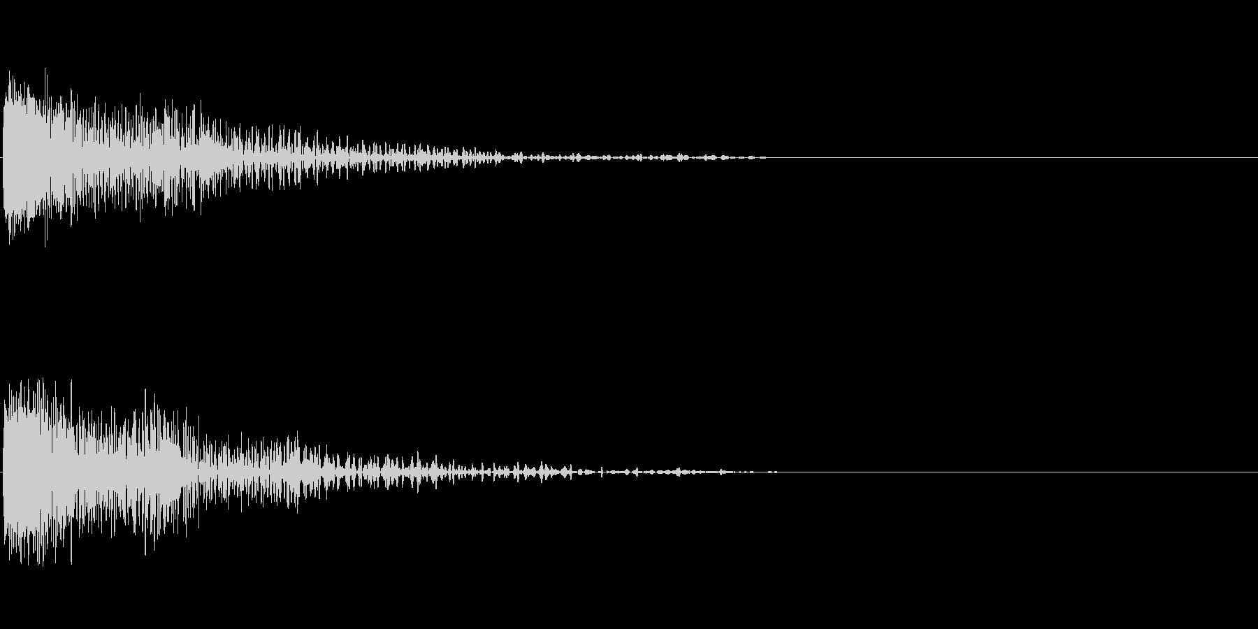 ビーム砲 1の未再生の波形
