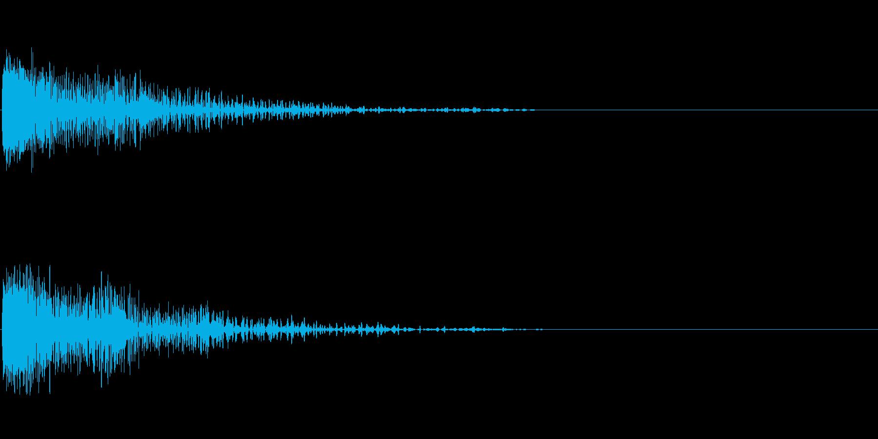 ビーム砲 1の再生済みの波形