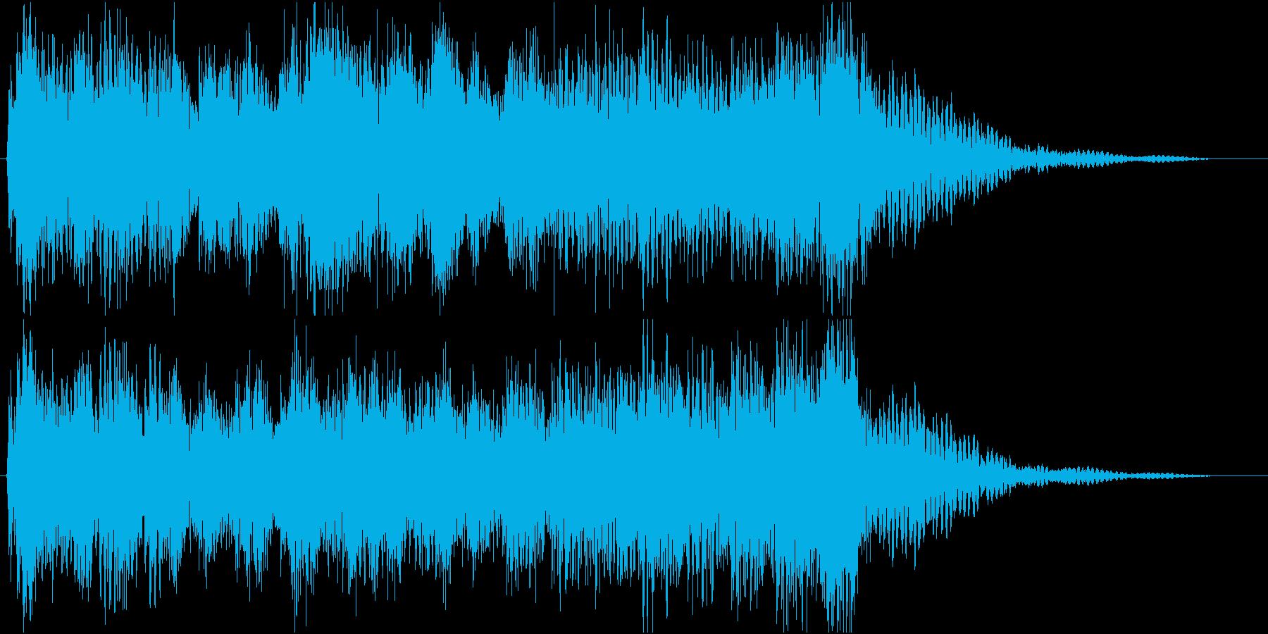 ジングル/成功/勝利/レベルアップの再生済みの波形