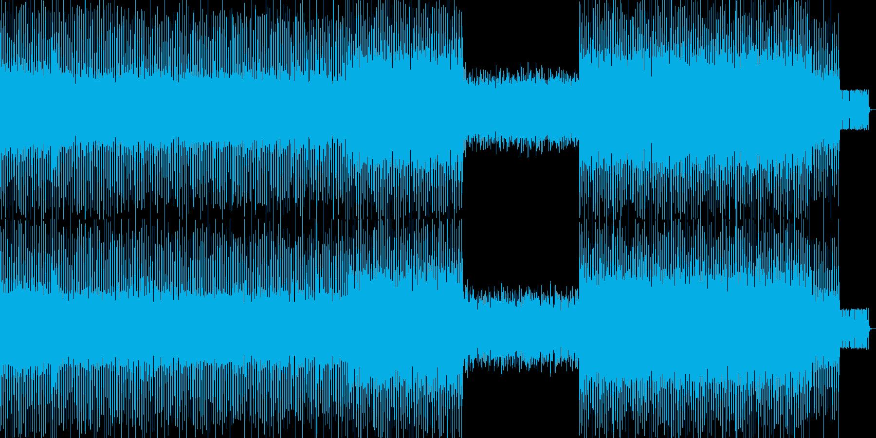 ハイパーポップの再生済みの波形