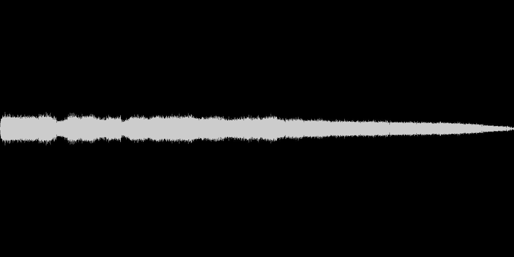 ガチャガチャ!「にぎやかな虫の音色」の未再生の波形