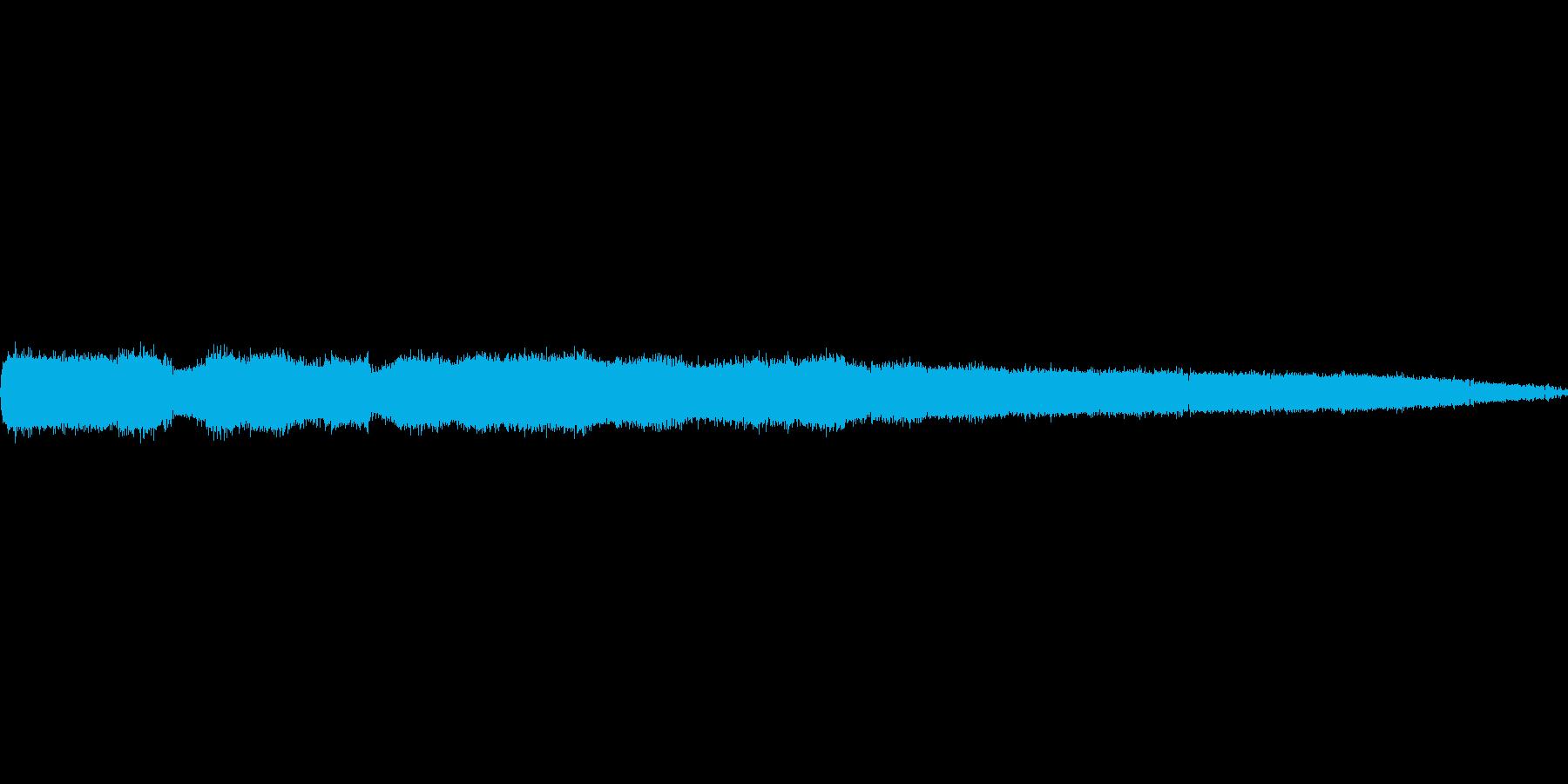 ガチャガチャ!「にぎやかな虫の音色」の再生済みの波形