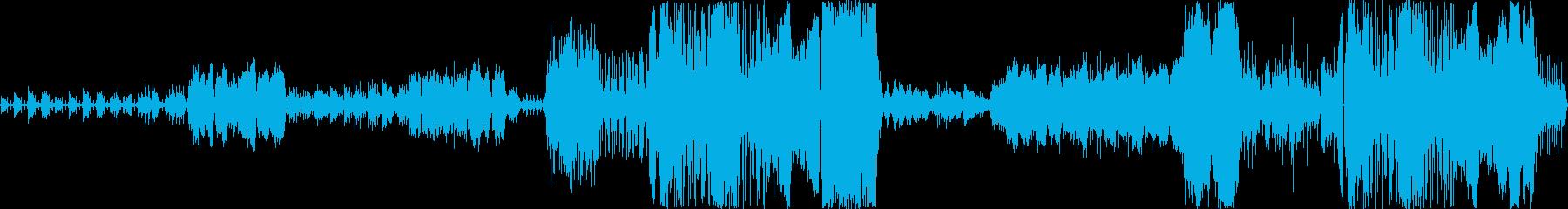 クラシック系映画音楽の再生済みの波形