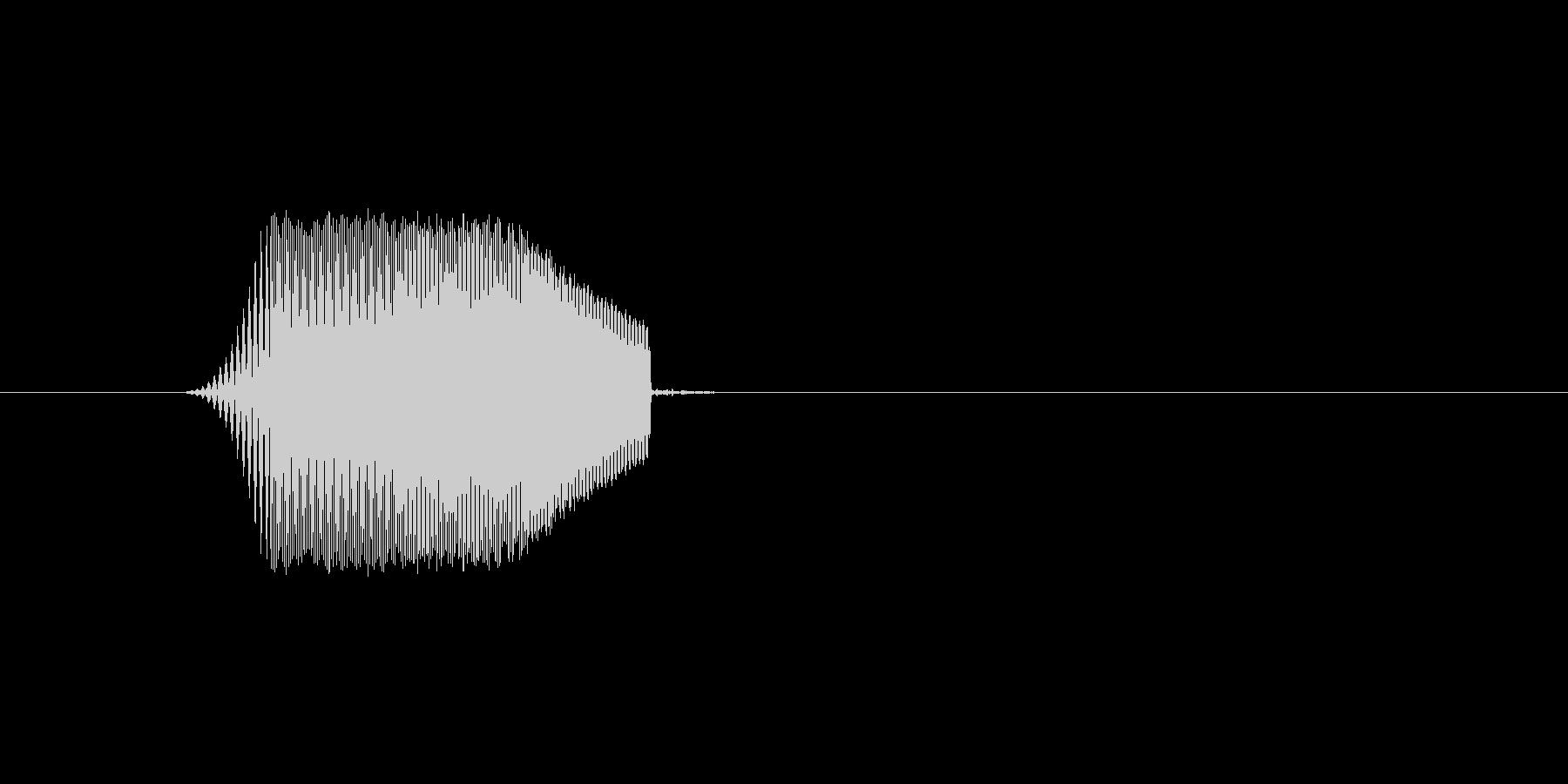 ファミコン風効果音カーソル系です 06の未再生の波形