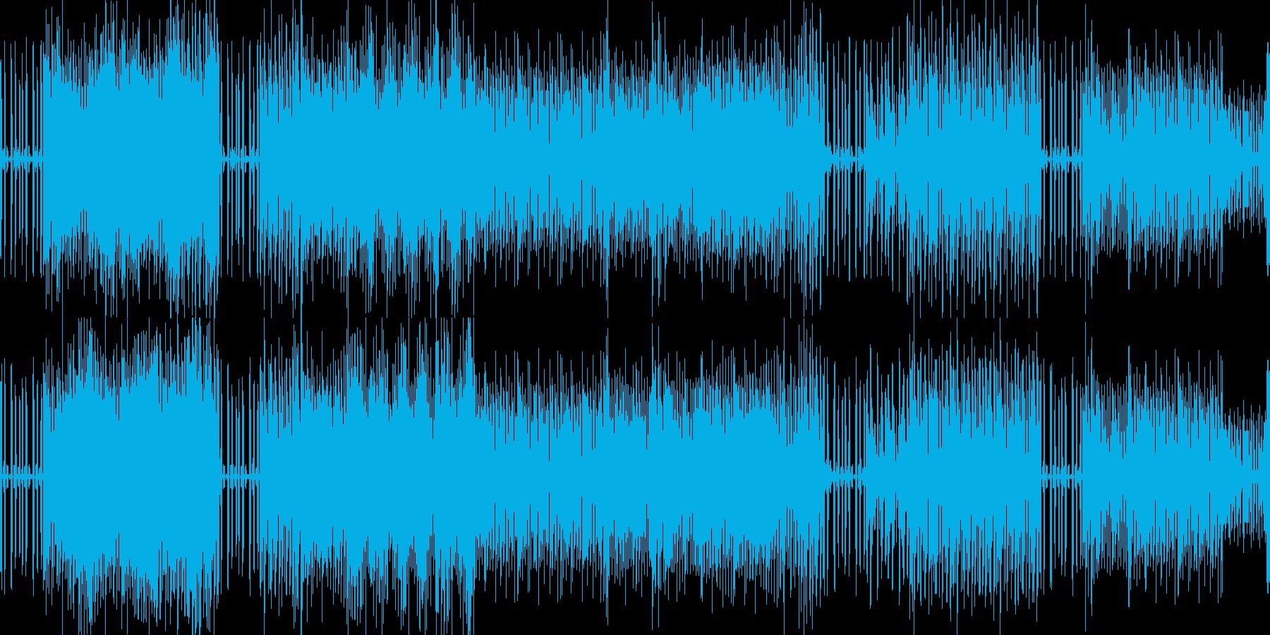 テクノな音楽でサイエンス的の再生済みの波形