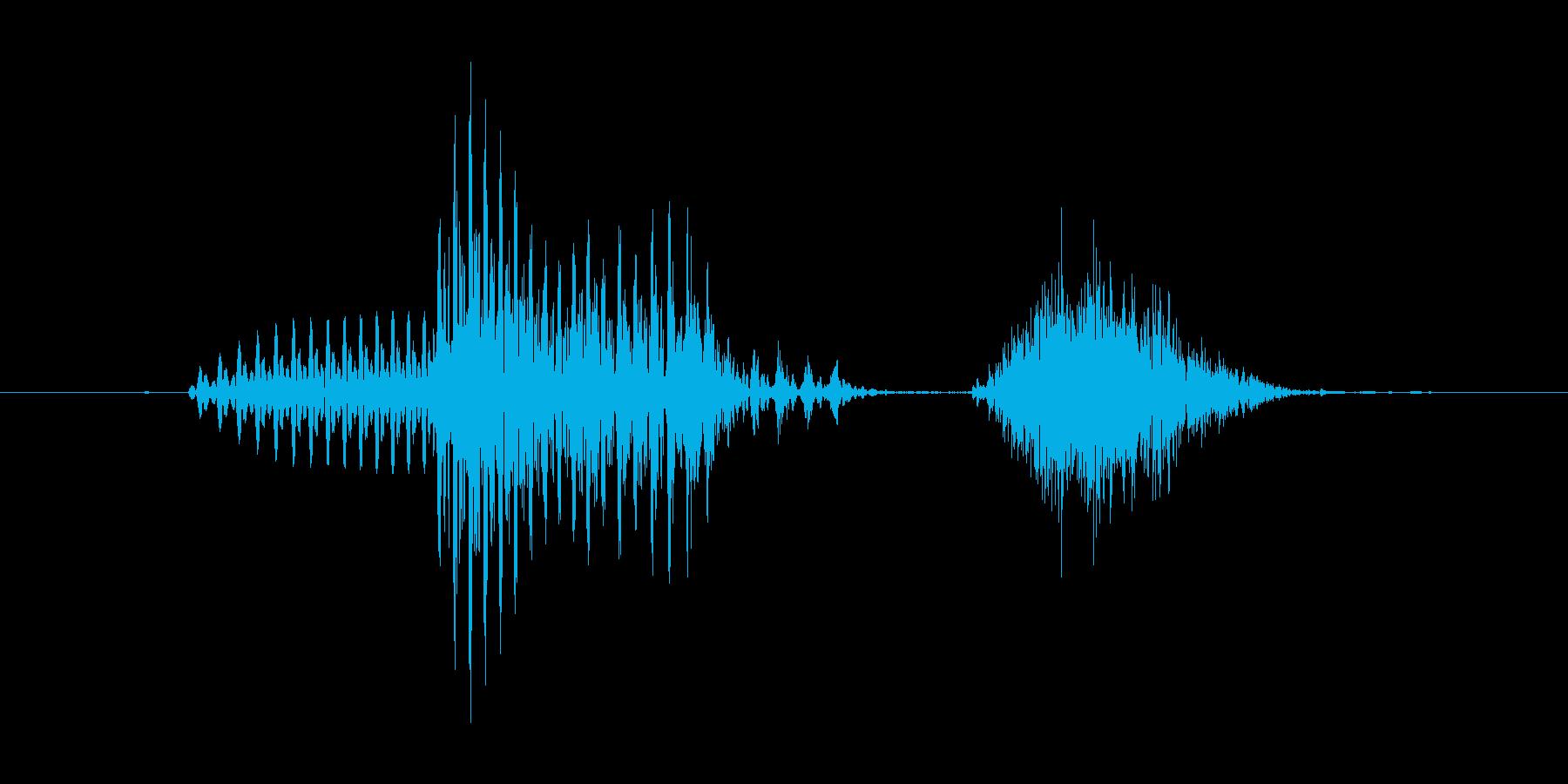 「March」英語発音の再生済みの波形