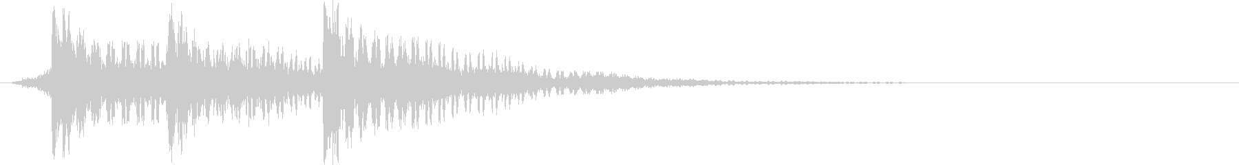 スマホアプリなどで使えるSE イメージ…の未再生の波形