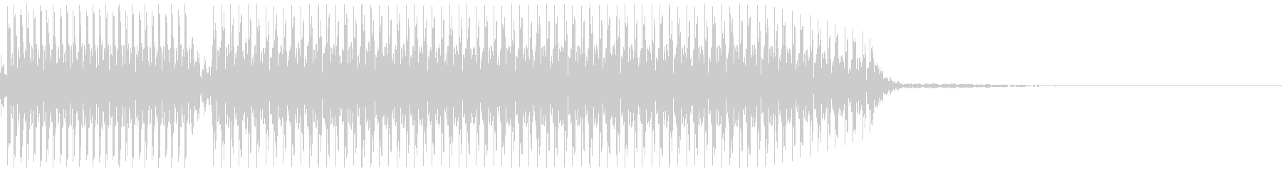 不正解音 ビブ~(GMS)の未再生の波形