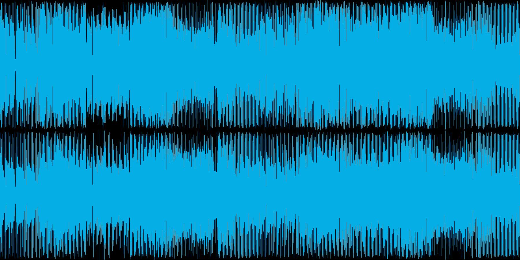 明るい雰囲気のテクノポップ。ループ可の再生済みの波形