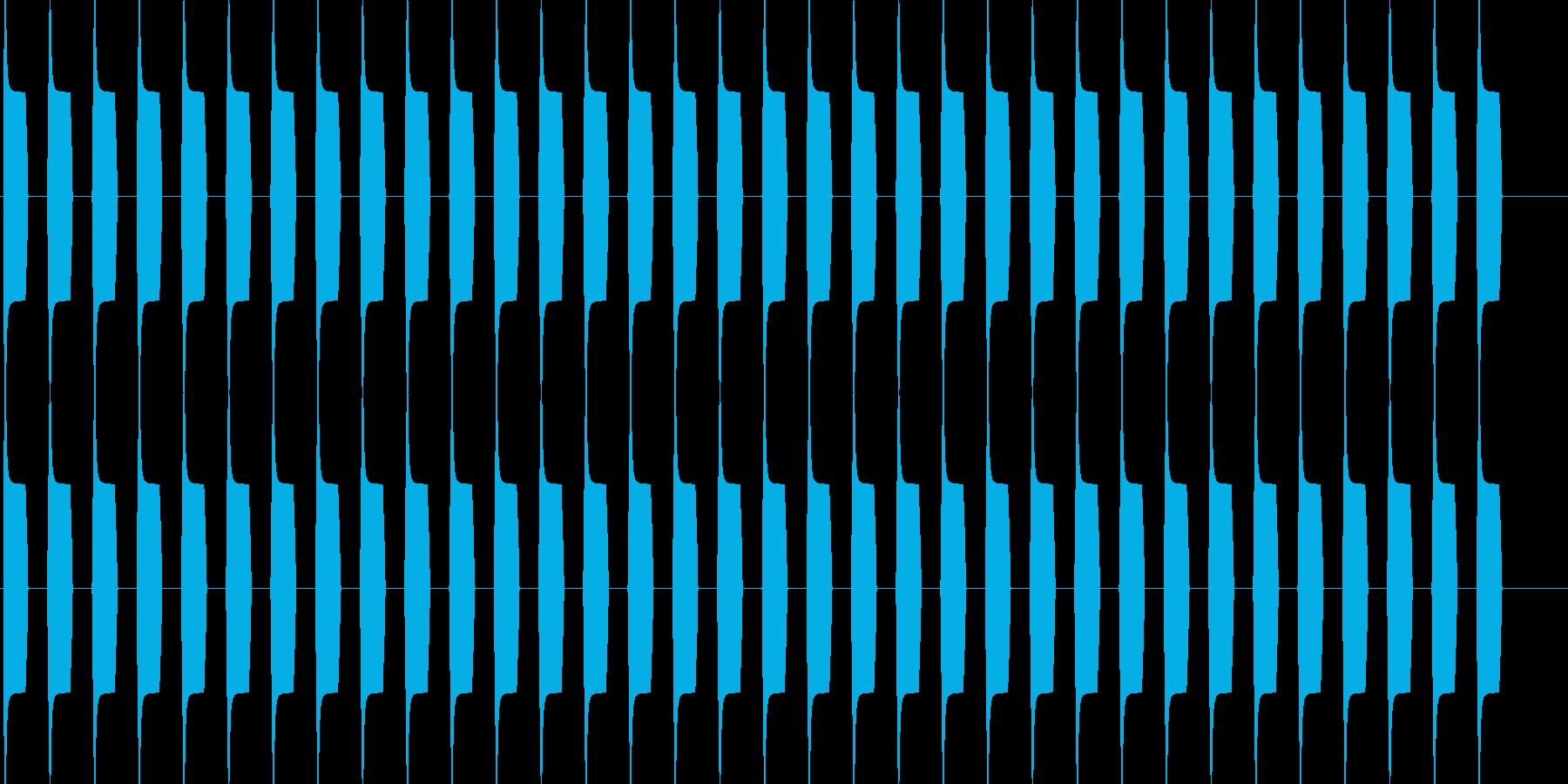 ブーブー な警告音 緊急連絡 アラーム3の再生済みの波形