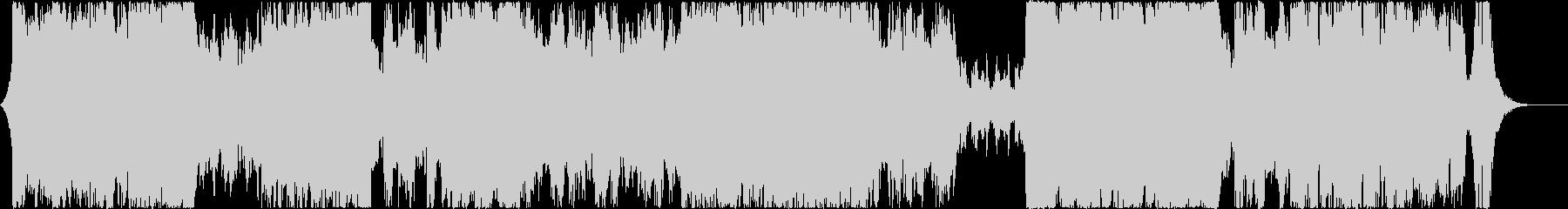 テーマパーク風オーケストラの未再生の波形