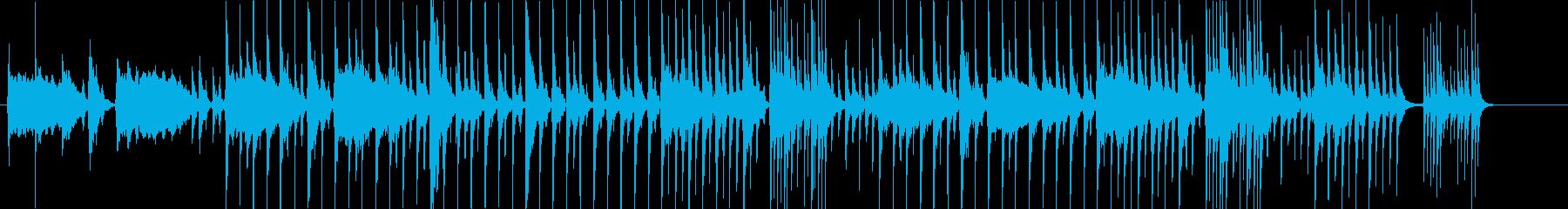 和楽器を用いた、伝統・歴史を感じるBGMの再生済みの波形