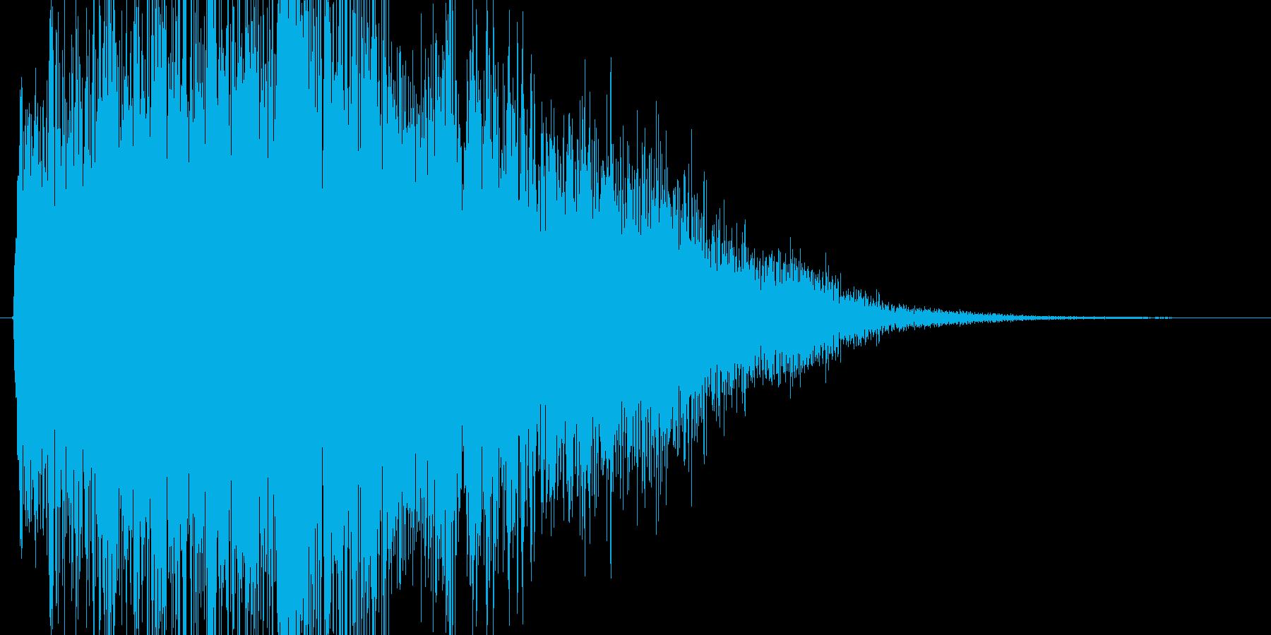 【ギター攻撃(強)】ギュゥウィイイン!!の再生済みの波形