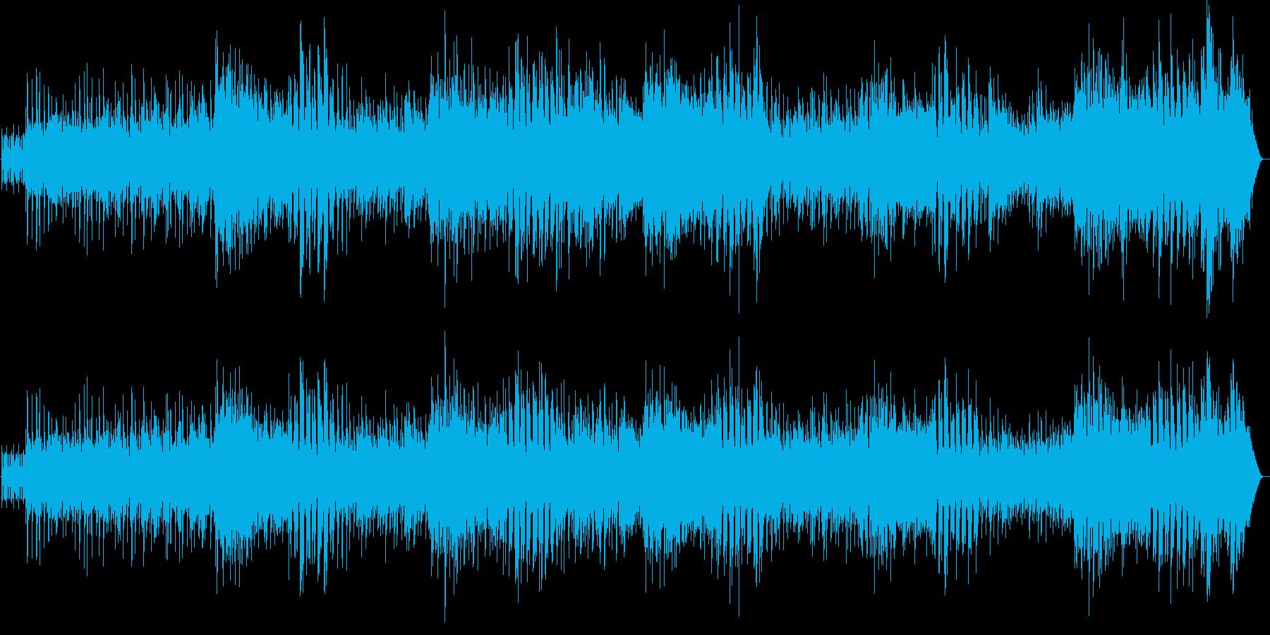 サンバ 爽やかでグルーヴィーな ボサノバの再生済みの波形
