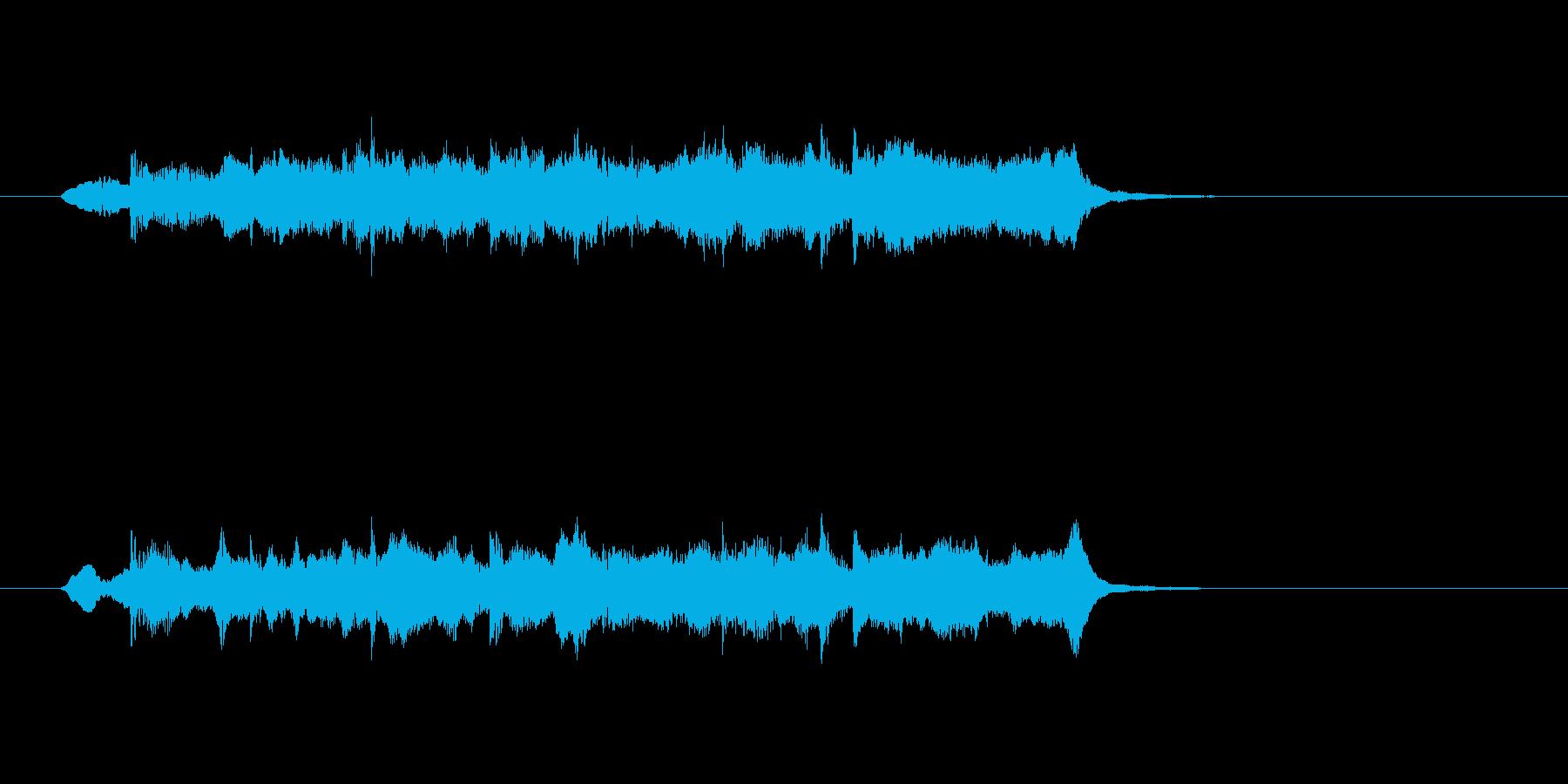 ストリングス ほのぼの 日常 リラックスの再生済みの波形