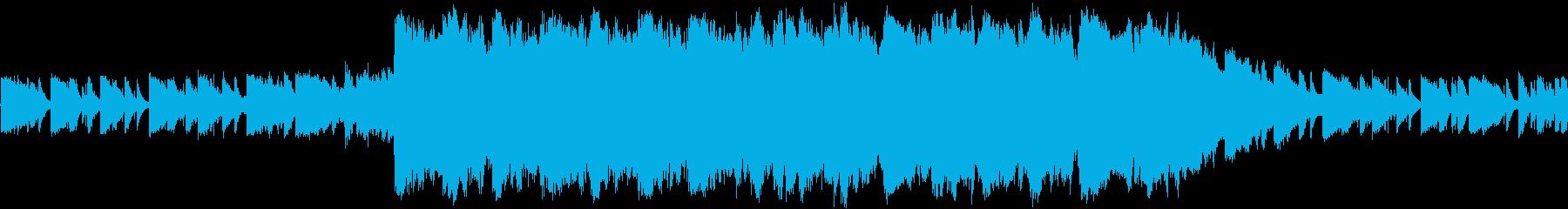 ケルト系 短いケルト調の曲の再生済みの波形