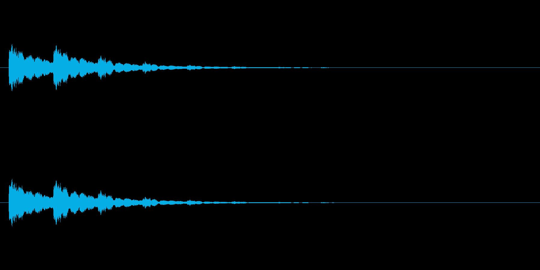 【ひらめき10-4】の再生済みの波形