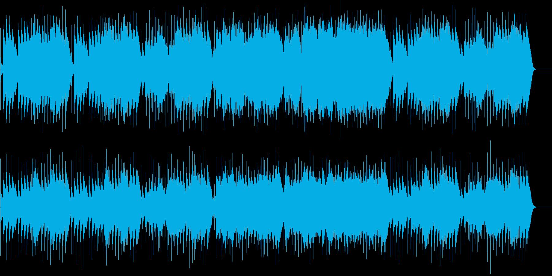 アイネクライネ 第3楽章 (オルゴール)の再生済みの波形
