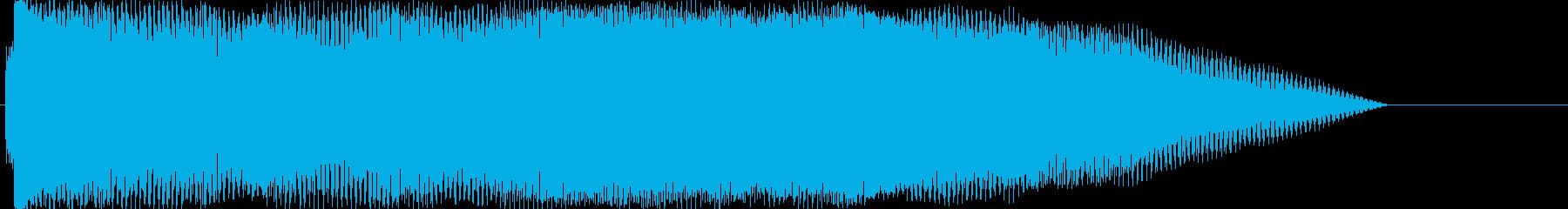 ドーン②(バンドの登場シーン・場面転換)の再生済みの波形