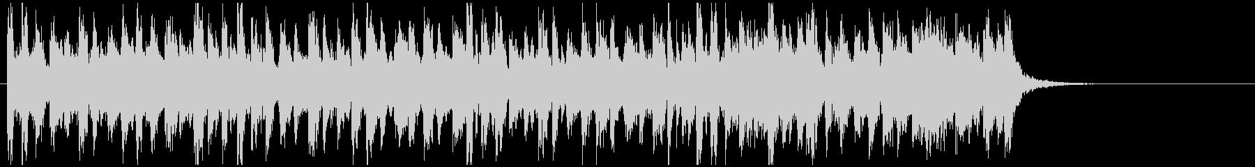 アフリカ系ドラムンベース◆15秒ジングルの未再生の波形