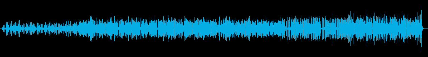 アコーディオンのワルツの再生済みの波形